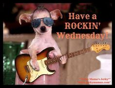 It is a Rockin' Wednesday