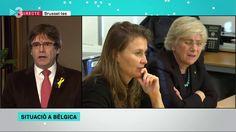 """Els matins - Carles Puigdemont: """"La situació dels empresonats és indignant"""""""