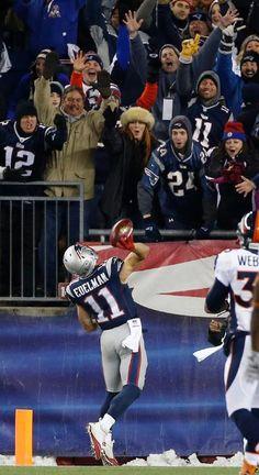 Julian Edelman - Special Teams touchdown!