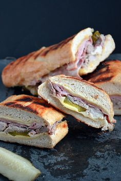 A classic and everyones fave: the Cuban Sandwich
