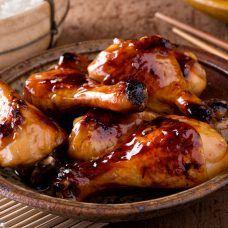 Frango Agridoce Coca Cola Chicken, Grilled Teriyaki Chicken, Sweet And Sour Recipes, Honey Recipes, Honey Soy Chicken Drumsticks, Receita Red Velvet, Honey Sriracha Sauce, Teriyaki Sauce, Boneless Pork Roast