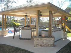 Backyard Projects - traditional - pool - houston - AARCON Construction and Remodeling