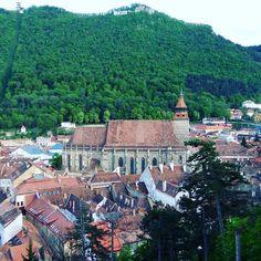The Black #Church (view from the White Tower) / La #Iglesia Negra (vista desde la Torre Blanca). #Brasov #Kronstadt #Transilvania #Siebenbürgen #Transylvania #Romania