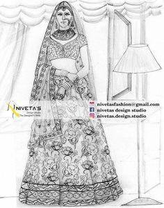whatsapp  +917696747289email- nivetasfashion@gmail.comAll Bespoke Sherwani are totally designed, tailored, & made as per individual needs offering you complete freedom of designing your own Bridal Lehenga.Bridal Lehenga. Bridal lehengas - party wear lehengas - lenghas - lehenga- hand work emrboidered lehengas - wedding - bride - lehenga designers - indian wedding