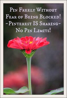 Pinterest ist zum Tauschen ~ Bitte frei Pin ohne Angst blockiert zu werde. Glückliches Pinning! Doris ♥
