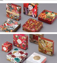 MOONCAKE SERIES on Behance Perfume Packaging, Cake Packaging, Thai Pattern, Gift Box Design, Moon Cake, Packaging Design Inspiration, Design Reference, Magazine Design, Mask Design