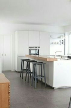 <3 this kitchen - needs some feature pendant lights.