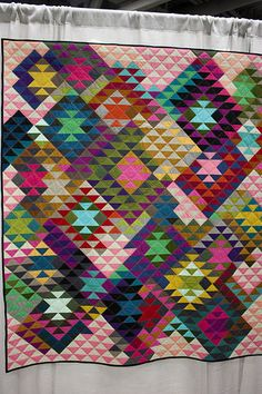 Half SquareTriangles by Tara Faughnan | Flickr - Photo Sharing!
