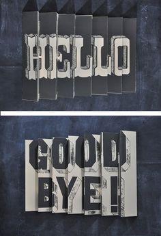 Hello. Good Bye!