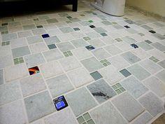 amazing clean bathroom tile floors