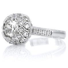Zelenka's CZ Vintage Ring