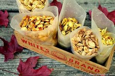pumpkin seed recipes!!!
