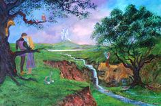 Once Upon a Dream   Painted by Peter Ellenshaw and Harrison Ellenshaw