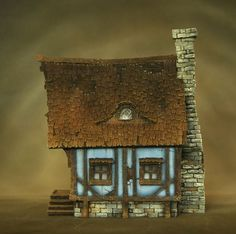 Timbered House by Richard Gray (https://www.facebook.com/richardgraycreations/photos)