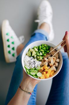 Healthy Bowl, Healthy Cooking, Healthy Eating, Healthy Recepies, Food Photography Tips, Food Bowl, Asian Recipes, Food Inspiration, Food And Drink