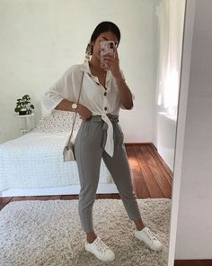 Pin on Thanya's Outfit Cute Comfy Outfits, Girly Outfits, Simple Outfits, Classy Outfits, Chic Outfits, Trendy Outfits, Fall Outfits, Summer Outfits, Teenage Outfits