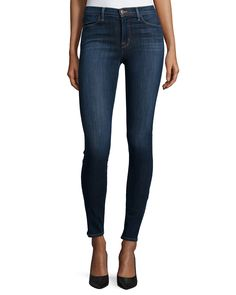 J Brand Jeans Skinny Maria High-Rise Jeans, Oblivion, Size: 26