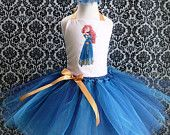 Items similar to Merida from Brave Tutu Dress on Etsy, a global handmade and vintage marketplace.