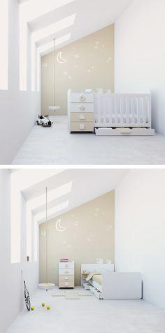 Cunas convertibles modernas, originales y de diseño para bebés de Alondra. Para habitaciones infantiles pequeñas: colección MINI. El perfecto todo el uno