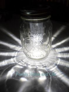 Mason Jar Solar Light DIY Project » The Homestead Survival...I read the entire directions prior to pinning and I love this idea! I want to make several. Lots of uses for these, including part of a gift basket or make a bunch for a special event!