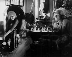 Actors Daryl Hannah and Rutger Hauer in a scene...