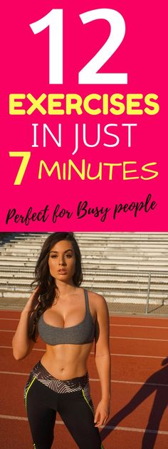 12 Exercises in Just 7 Minutes – Perfect Workout for Busy People. These 12 exercises can be easily done at home or elsewhere without any equipment and guarantee effective results. You don't have to spend hours in the gym to achieve your desired weight loss goals. This workout plan is perfect for busy people who struggle to find time for exercising. Learn about this training plan validated by the American College of Sports Medicine scientific journal.