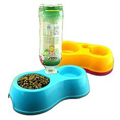 QINF Food Bowl Water Fountain for s Dogs ~ You could find out more details at the link of the image. (This is an affiliate link and I receive a commission for the sales) Elevated Dog Bowls, Raised Dog Bowls, Stainless Steel Dog Bowls, Dog Water Bowls, Dog Branding, Food Bowl, Fountain, Image Link, Canning
