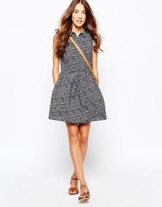 Image 4 of Jack Wills Printed Collar Dress