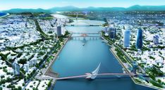 OMGEVING Wins Design Competition to Restore Riverfront in Vietnam