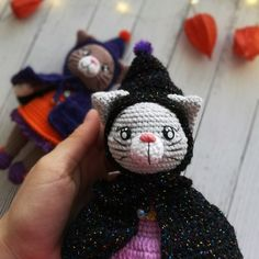 Crochet pattern Kitty, Amigurumi CAT with clothes pattern.