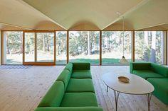 Classic Nordic Cabin – Husarö House by Tham & Videgård Arkitekter.