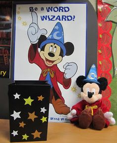 Classroom vocabulary strategy with a little bit of magic...(Includes FREE download) - need to look at this.....my son has that hat from Disney and  I am thinking if I combine that, the students would love it.