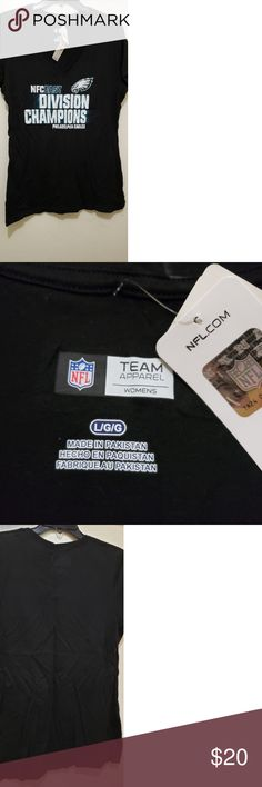 661c252bb Philadelphia Eagles NFC East Division Champions Women's team tee shirt, Philadelphia  Eagles, NFC East
