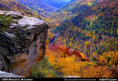 Lindy Point Overlook, Blackwater Falls State Park, West Virginia