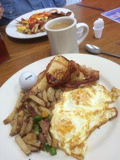 Breakfast at Chickadees in South Carolina