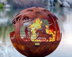 fire by Valentina on Etsy ~ TheFirePitGal