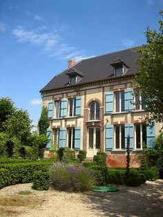 Aupres D'Eglise ~ country house in the small village of Oyes, heart of the Campagne-growing region, France.
