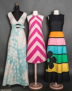 Three Colorful Summer Garments, 1965-1975, Augusta Auctions, April 8, 2015 NYC, Lot 53