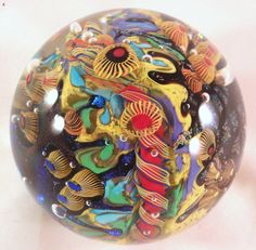 David Lindsay's Canary Islands Paperweight! Sold £92