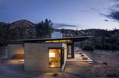 AIA Small Project Awards: Sawmill, Tehachapi, California by Olson Kundig Nachhaltiges Design, House Design, Pump House, Prefabricated Houses, Desert Homes, Green Architecture, Higher Design, Beautiful Family, Beautiful S