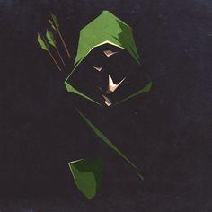 Creen arrow artwork