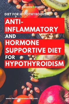 Finding the right diet for hypothyroidism can be easier said than done. Finding the right diet for hypothyroidism can be easier said than done. Hypothyroidism Diet Plan, Thyroid Diet, Thyroid Disease, Thyroid Health, Health Diet, Anti Inflammatory Diet, Thyroid Problems, Best Diets, Tatoo