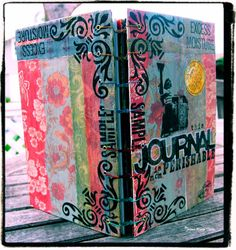 My personal art journal. JoleneMarie www.RexRoadStudios.com