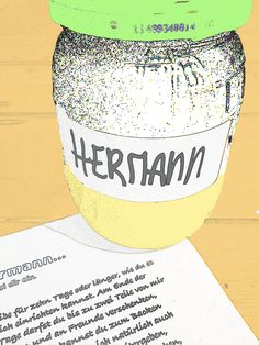 Hermannbrief und Siegfriedbrief auch zum Ausdrucken.   #Hermann #Siegfried #Sauerteig My Favorite Food, Favorite Recipes, My Favorite Things, Home Bakery, I Love Food, Baked Goods, Food And Drink, Baking, Kult