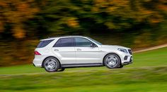 Side view of the Mercedes-AMG GLE 450 4MATIC.