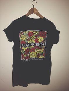 """Real Friends"" T-shirt."