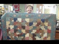 ▶ Drunkard's Path Quilt - The Easy Way! - YouTube