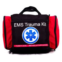 Deluxe EmsStyle Kit By Nutristore First Aid Ems Kit Including First Responder Medical Supplies In A Large Emergency Trauma Medic Bag ** Details can be found by clicking on the image. (This is an affiliate link) Survival First Aid Kit, Emergency Survival Kit, Emergency Preparation, Outdoor Survival, First Aid Supplies, Medical Illustration, Medical Equipment, Trauma, Ems