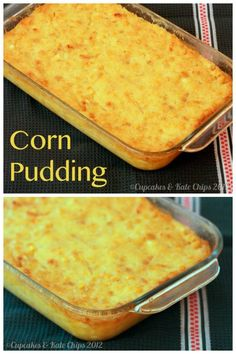 Corn Pudding - a family favorite side dish for Christmas and Thanksgiving | cupcakesandkalechips.com | gluten free, vegetarian
