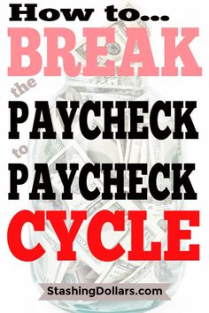 How to Stop Living from Paycheck to Paycheck Even If Your Broke Ways To Save Money, Money Tips, Money Saving Tips, Saving Ideas, Mortgage Tips, Money Saving Challenge, Financial Tips, Financial Planning, Budgeting Finances